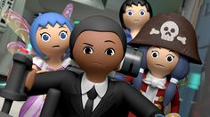 Meet the new characters of new kids' streaming show Read my post Heroes United, 2000 Cartoons, Playmobil Toys, Enchanted Island, Super 4, Cartoon Characters, Fictional Characters, Kids Shows, New Kids