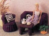 Fashion Doll Chair and Table Crochet Pattern