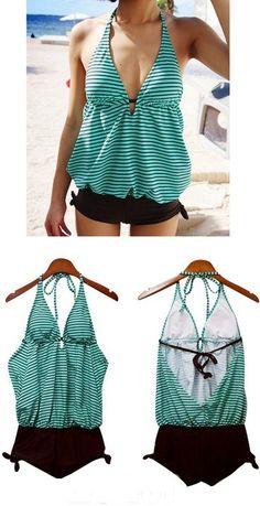 Cute maternity swimsuit from Sierra Lane