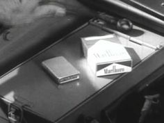 Marlboro Cigarettes Commercial - containing drugs so powerful that the man forgets to eat. Best Email Marketing Software, Marlboro Cigarette, Vintage Videos, Old Commercials, Vintage Advertisements, Ads, Health Advice, Advertising Campaign, Theme Song