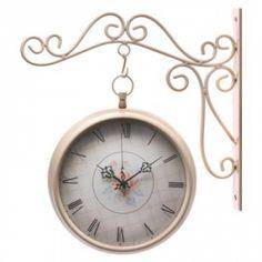 Rosebud Wall Clock   $29.95   Lexi's Kreationz, LLC   www.facebook.com/LexisKreationzLLC