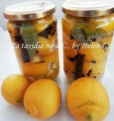 Τα ταξίδια μου : Λεμόνια Τουρσί Recipes With Few Ingredients, Food Hacks, Food Tips, Preserves, Pickles, Cantaloupe, Cucumber, Healthy Recipes, Healthy Food