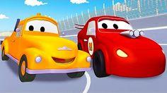 Desene animate cu Masini - Povestiri din Valea Radiator 500 - YouTube