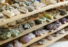 Stones have captivated Dabdab since a young age — her grandfather owned a gem shop — and they continue to be a driving force behind most of her creations. In the studio, she sorts her collection by color and size.