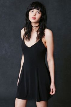 Silence + Noise Makenna Strappy Scoop-Back Fit + Flare Dress