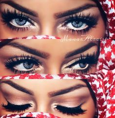 You gotta wear falsies to get this look