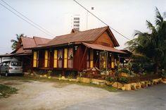 Traditional Malay Village House, Melaka, Malaysia