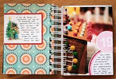Make a journal with all Favorite Christmas recipes OR recipes you cooked for each Christmas. :-)