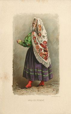 Adolf Liebscher: Žena z Třeboně (Woman from Třeboň), 1894