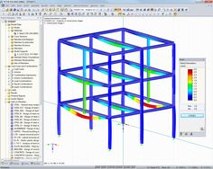 Dlubal RFEM 5 & RSTAB 8 - Construction Stages for Frameworks and Structures Consisting of Surfaces and Solids with RF-/STAGES | www.dlubal.com | #bim #cad #dlubal #dynamics #eurocode #engineering #engineeringsoftware #fem #rfem #rstab #staticanalysis #structuralanalysis