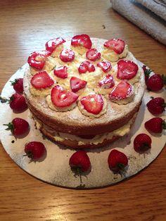 Victoria sponge cake!