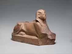 Sphinx of Thutmose III, ca. 1479–1425 B.C. Quartzite. l. 34.6 cm; w. 11.4 cm; th. 23.3 cm; weight 4.5 kg. The Metropolitan Museum of Art, Rogers Fund, 1908, 08.202.6 © 2000–2016 The Metropolitan Museum of Art.