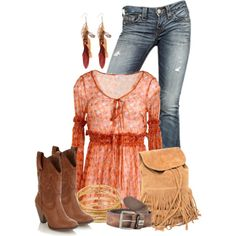 """Country Boho"" by colierollers on Polyvore"
