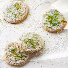 Lime and Ginger Chewies From Better Homes and Gardens, ideas and improvement projects for your home and garden plus recipes and entertaining ideas.