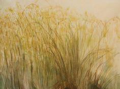 Várzea - aquarela sobre papel arroz