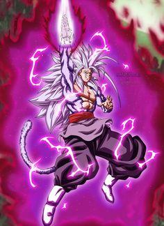 Goku Black SSJ5 by Majingokuable on DeviantArt