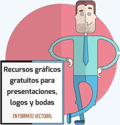 Recursos gráficos gratuitos para presentaciones, logos y bodas #recursosgraficos