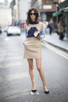 Street Style bei der London Fashion Week September 2015