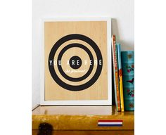 SALE! You are Here Print