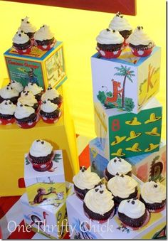One Thrifty Chick: Curious George Party {new business launch}