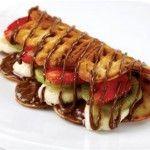 Oktay Usta Karışık Meyveli Waffle Tarifi (Gülben 24.12.2013)