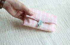 箱ティッシュがそのまま使える!ポケットティッシュカバーの作り方(もっと簡単!編)   nunocoto