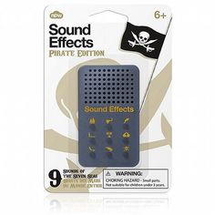 Sound Effects Pirate Edition Sound Effects, Pirates, Museum, Phone Cases, Gifts, Number, Presents, Gifs, Museums