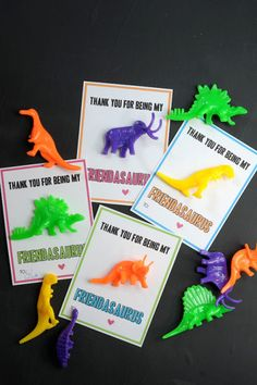 The 13 Cutest Valentine's Day Cards To Make With Your KidsValentines For Kids - DIY ValentinesFree printable dinosaur Valentine's Day cards! Great for classroom valentine cards! Cute Valentines Day Cards, Classroom Valentine Cards, Homemade Valentine Cards, Valentine Gifts For Kids, Valentine Day Crafts, Valentine Ideas, Printable Valentine, Valentine Wreath, Valentines Day Crafts For Preschoolers