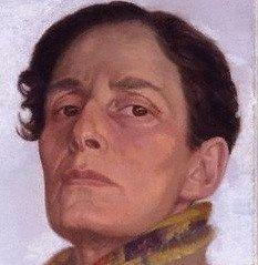 Hannah GLUCKSTEIN (Gluck) FRSA (artist and cross-dresser)