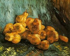 Still Life with Pears - van Gogh Vincent