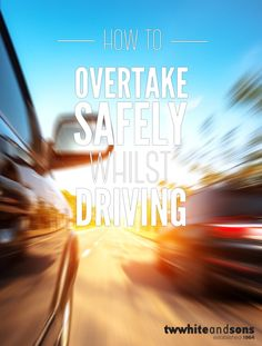 How to overtake safely while driving The UK roads are getting busier and busier with a variety of different road users such as cyclists and horseriders, and it's important to understand how to overtake safely, for both you, your passengers and all other road users. [read more]