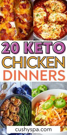 Bariatric Recipes, Ketogenic Recipes, Keto Recipes, Diabetic Recipes, Ketogenic Diet, Healthy Low Carb Recipes, Low Carb Keto, Healthy Meals, Keto Chicken