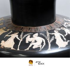 ATTIC BLACK features iconic, handmade pottery showcasing the Grecian heritage & culture. Handmade Pottery, Life, Black, Jewelry, Art, Art Background, Jewlery, Black People, Bijoux