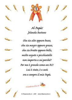 Poesie per la Festa del papà