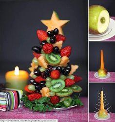 árvore+de+natal+feita+de+frutas.jpg (539×572)