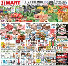 H Mart Weekly Ad August 19 - 25, 2016 - http://www.olcatalog.com/h-mart/h-mart-weekly-ad.html