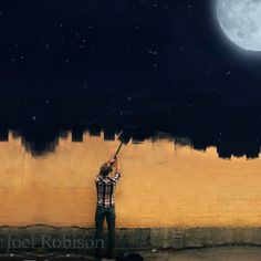 Painting The Night Sky by boywonder on Etsy, $25.00