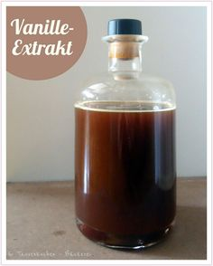 Selbstgemachter Vanille-Extrakt