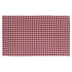VHC Brands Breckenridge Burlap Plaid Tablecloth - 15458