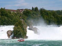 Cataratas del Rin en Suiza - http://www.absolutsuiza.com/cataratas-del-rin-en-suiza/