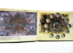 Jennifer Khoshbin, London Calling (altered book)