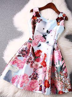 Color:Black/Light BlueMaterial:Synthetic FiberStyle:PrintFashion Element:Colorful Flower Print Vest DressSize:S/M/LS: Modest Dresses, Cheap Dresses, Simple Dresses, Cute Dresses, Beautiful Dresses, Party Dresses, Luulla Dresses, Floral Dresses, Ball Dresses