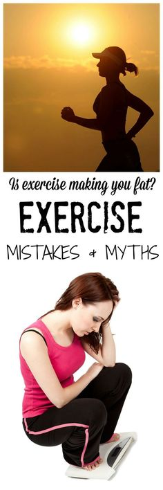 Is exercise making you fat? Check out my dietitian approved evidence on the mistakes and myths we all face in our everyday lives regarding exercise and weight loss! #nutrition