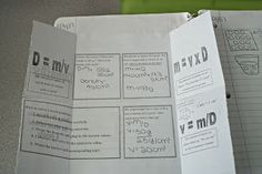 Interactive science notebook ideas.