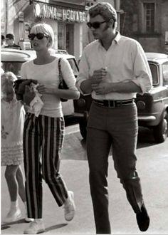 Sylvie Vartan and Johnny Hallyday
