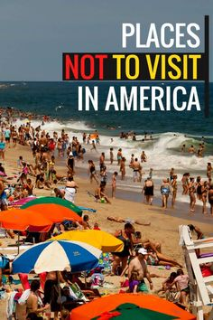Here is a list of the most disappointing destinations in America. You'll be surprised that number 6 is on the list.