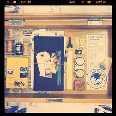 scription traveler's notebox