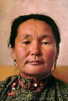 Woman, Hustain Nuruu National Park, Mongolia