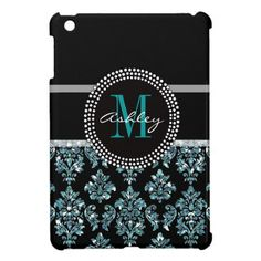 Girly Blue Glitter Black Damask Personalized Cover For The iPad Mini we are given they also recommend where is the best to buyHow to          Girly Blue Glitter Black Damask Personalized Cover For The iPad Mini today easy to Shops & Purchase Online - transferred directly secure and t...