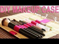 58 Ideas For Diy Makeup Brush Cleaner Mat Make Your Own Makeup, Make Makeup, Clean Makeup, Makeup Case, Make Up, Makeup Hacks, Diy Makeup Brush Cleaner, Makeup Brush Roll, Makeup Brush Holders